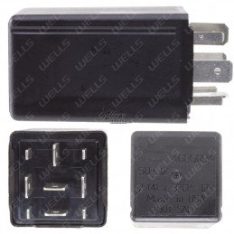 Centrale de clignotants/warnings - 9 broches - Jeep Grand-Cherokee WJ 1999-2004 // 68499068AA