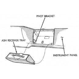 Cendrier avant - Cherokee 1984-1996 // 55011094-OCC