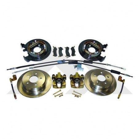 301-Conversion (KIT) freins arrière à tambours en disques - Jeep Grand-Cherokee ZJ 93-98 / Wrangler TJ 97-05 // RT31006