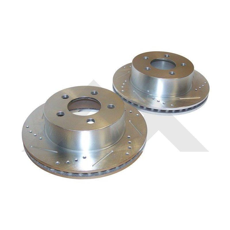 Kit performance 2x disques de frein avant / Jeep Wrangler TJ 99-06 / Cherokee XJ 99-01 // R31001
