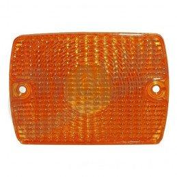 Veilleuse/clignotant ORANGE dans calandre - Jeep Wrangler YJ 87-95 // 56001378