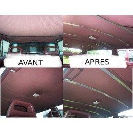 Kit de six lames pour réparation ciel de toit / pavillon Jeep Cherokee XJ 1984-1996
