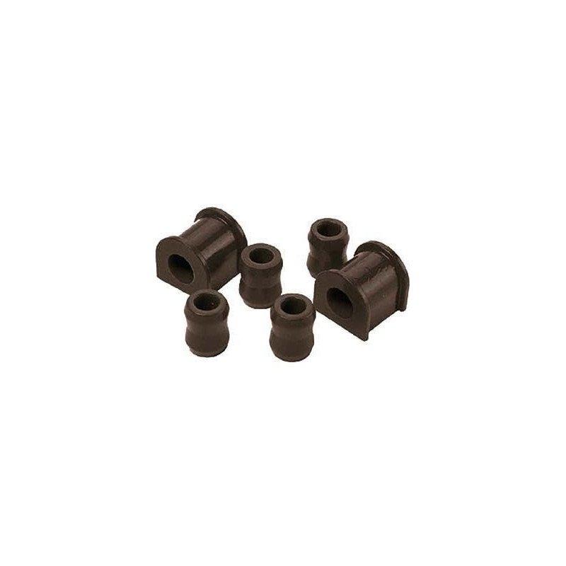 Kit silent-blocs barre stabilisatrice avant Jeep Wrangler YJ 87-95, 24mm en polyuréthane renforcé // KJ05002BK