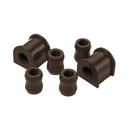 Kit silent-blocs barre stabilisatrice/antiroulis Avant - 28mm - polyuréthane renforcé - Jeep Wrangler YJ 87-95 // KJ05007BK