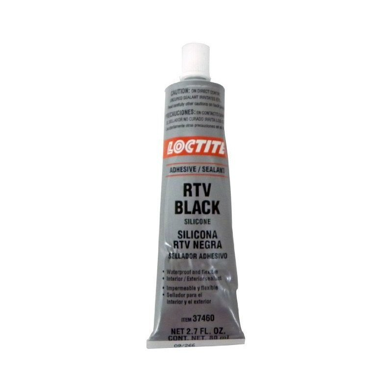 p te joint noir loctite rtv silicone 80ml pour pont carter bo te pompe jeep. Black Bedroom Furniture Sets. Home Design Ideas