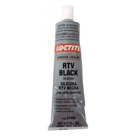 Pâte à joint noir / Loctite® RTV Silicone 80ml / Pour pont, carter, boîte, pompe / Jeep // J8993317