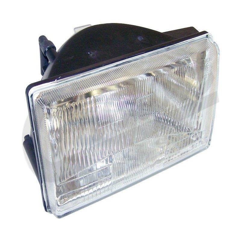 Optique de phare gauche Jeep Grand-cherokee 1993-1998 (avec réglage électrique) // 55054833