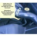 Durite direction assistée - De la pompe de DA au ventilateur hydraulique - Jeep Grand-Cherokee WJ 2.7LCRD 2002-04 // 52089501AA