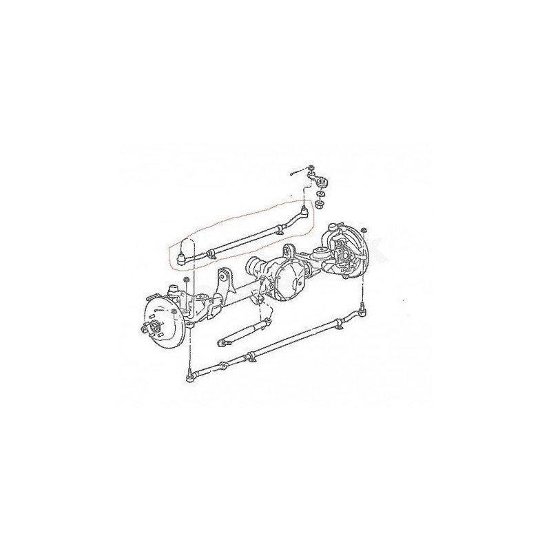 Kit barre de direction complète / Jeep Wrangler JK 07-18 -- 52060049K