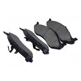 Plaquettes de frein avant renforcées Titanium / Jeep Wrangler TJ 97-05 & YJ 90-95 / XJ 90-01 / ZJ 93-98 // 4778058TI