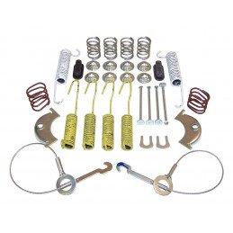 "Ensemble ressorts + câbles de freins à tambour arrière 10"" (254mm) / Jeep Wrangler YJ 87-95 / XJ 87-90 / CJ 86 // 4636778"