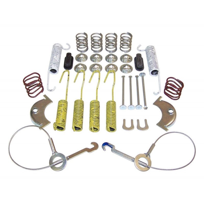 Ensemble ressorts + câbles de freins à tambour arrière 10 pouces Jeep Wrangler YJ 87-95, Cherokee XJ 87-90, CJ 86 -- 4636778