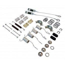Kit ressorts + câbles de freins AR tambour 9 pouces / 230 mm / Jeep Wrangler YJ 90-95 / TJ 90-06 / Cherokee XJ 90-01