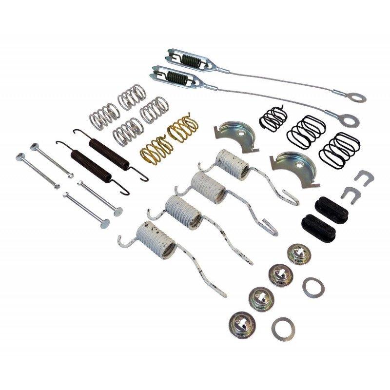 Kit ressorts, câbles et accessoires de freins Arrière tambour 9 pouces Jeep Wrangler YJ 90-95 / TJ 90-06 / Cherokee XJ 90-01