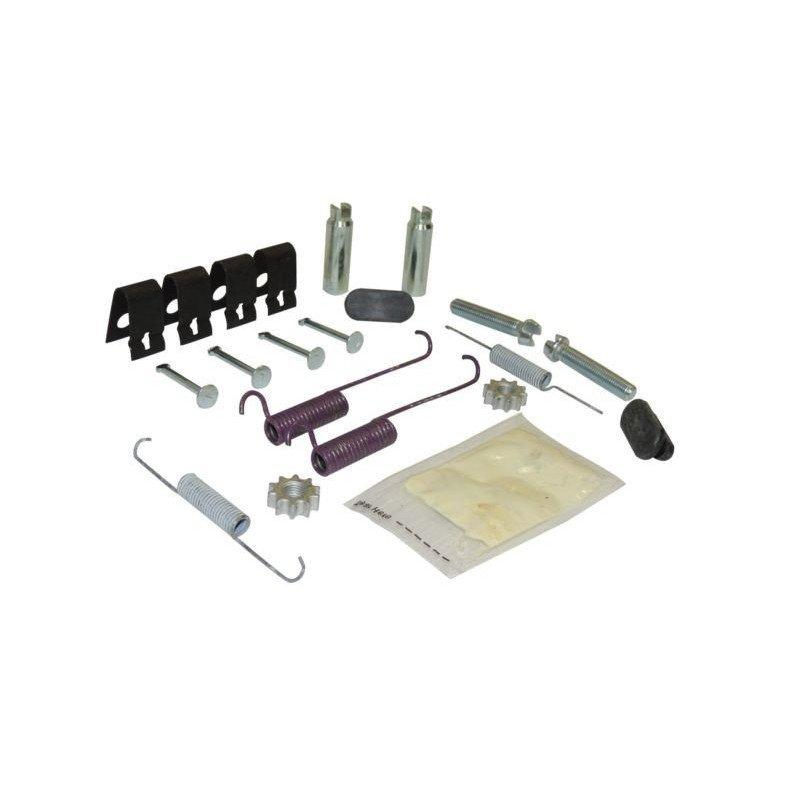 Accessoires de montage de frein à main Jeep Wrangler TJ 03-06 / Cherokee KJ 03-07 - Ressorts + Clips + tendeurs - 5093390HK