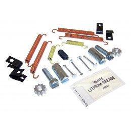 Ressorts + Clips + Tendeurs - Accessoires de montage frein à main Jeep Wrangler JK 2007-16, JL 2018-19, Cherokee KK 2008-12