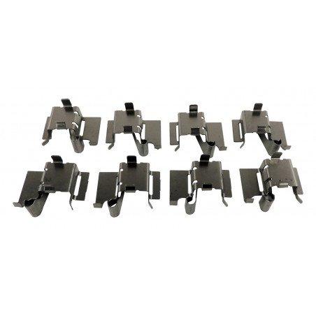 Ressorts-clips de plaquettes de frein avant x8 avec disques arrière 320 mm / Jeep Cherokee KL 14-17