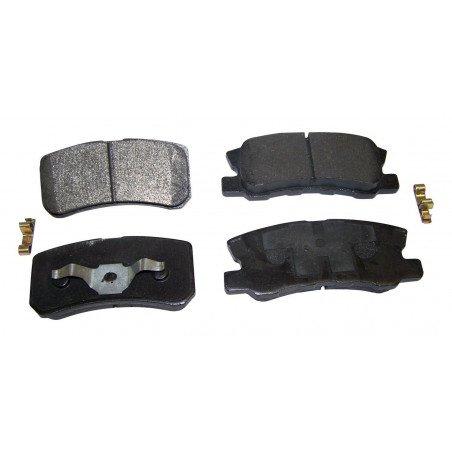 Jeu Plaquettes (x4) frein arrière semi-métalliques pour disques 302 mm / Jeep Compass MK 2007-2017 // 68028671AA