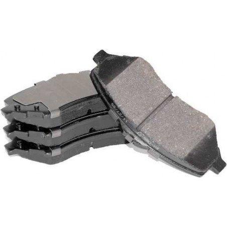 Jeu Plaquettes (x4) frein arrière semi-métalliques - jusqu'au VIN 358321 / Jeep Grand Cherokee ZJ 1994 // 4762101
