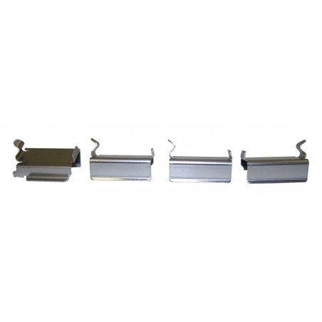 Kit 4 x ressorts-clips de plaquettes de frein avant / Jeep Cherokee KJ 2002-2007 // 5019985K