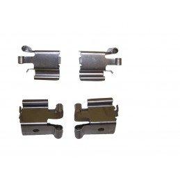 Ressorts-clips de plaquettes de frein avant x 4 - montage AKEBONO / Jeep Grand Cherokee WJ 1999-2004 // 5093185AA
