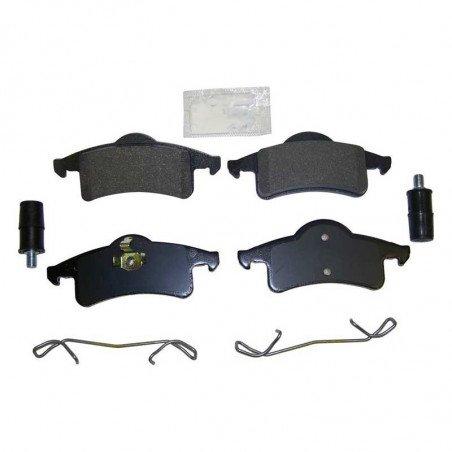 Jeu Plaquettes (x4) de frein arrière + ressorts et colonnettes - Jeep Grand Cherokee WJ 1999-2004 // 5011970MK