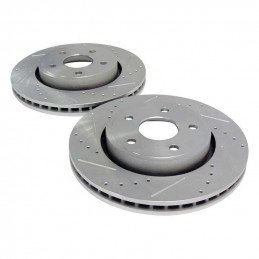 Disques de frein avant performance x2 / Jeep Grand Cherokee WK 2005-2010 + Commander XK 2006-2010 sauf SRT8 // RT31003