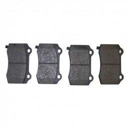 Kit 4 x plaquettes de frein arrière semi-métalliques / Jeep Grand Cherokee WK SRT8 2006-2007 // 68003610AA