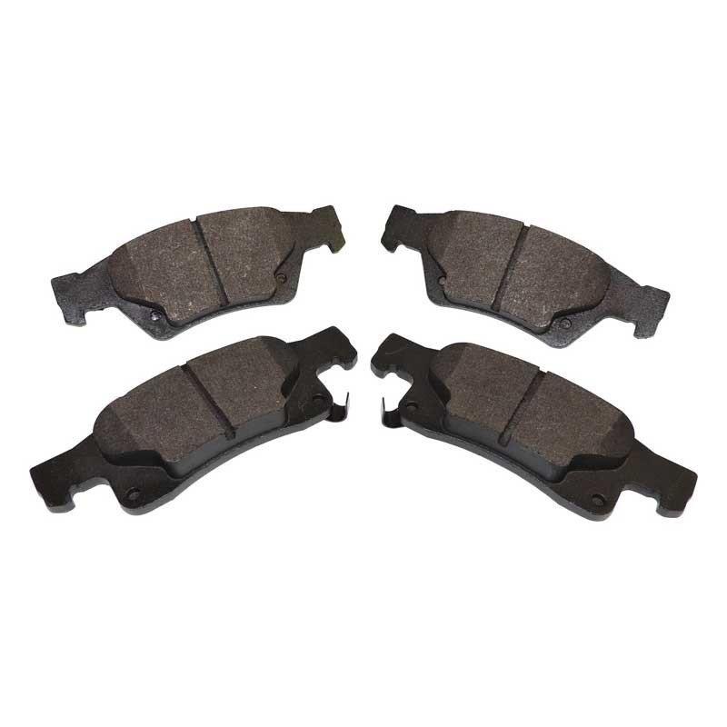 Kit 4 x plaquettes de frein arrière semi-métalliques / Jeep Grand Cherokee WK2 2011-2017 sauf SRT // 68052386AA