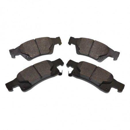 Jeu Plaquettes (x4) frein arrière semi-métalliques / Jeep Grand Cherokee WK2 2011-2017 sauf SRT // 68052386AA