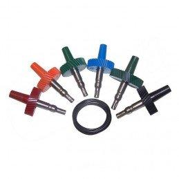 Pignons de prise de compteur à câble x6 pour Jeep Wrangler TJ 97-06 et YJ 93-95,Cherokee XJ 93-01