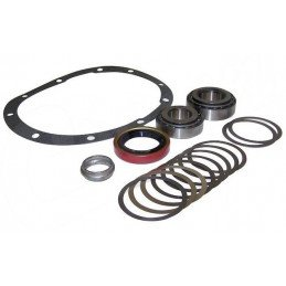 Kit roulements + joints + cales pignon attaque - pont arrière Dana 35C - Jeep Wrangler YJ, TJ, Cherokee XJ, Grand Cherokee ZJ