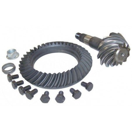 Couple conique - Couronne + Pignon, Ratio 3.55 - Pont Dana 35C - Jeep Wrangler TJ, Cherokee XJ