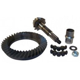 Couple conique - Couronne + Pignon, Ratio 4.10 - Pont Dana 44 - Jeep Wrangler TJ