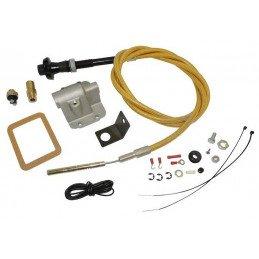 Kit performance câble servomoteur du crabot - Rehausse 0 à 3 pouces - Pont avant Dana 30 pour Jeep Wrangler YJ / Cherokee XJ