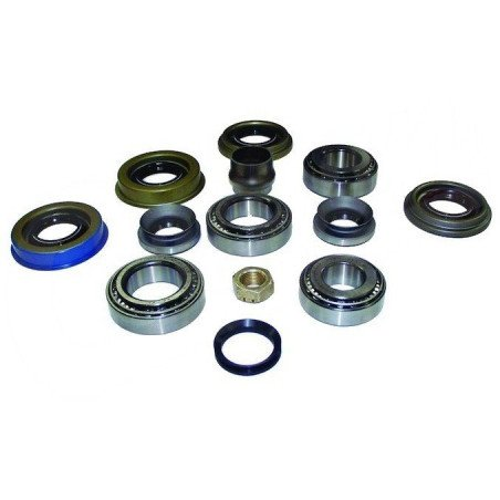 Kit rénovation - Roulements + Joints + bague - Pont avant Dana 30 pour Jeep Wrangler TJ, Cherokee XJ, Grand Cherokee ZJ, WJ