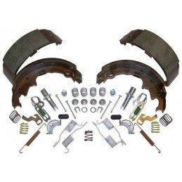 Kit freins arrière tambour 9 pouces - Mâchoires + accessoires - Jeep Wrangler YJ, TJ  Cherokee XJ de 1990 à 2000 -- 4723367MK