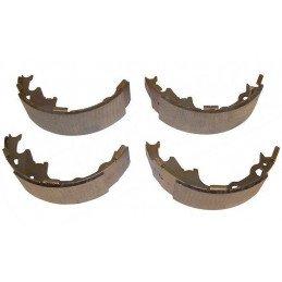 Kit Mâchoires (x4) freins arrière pour tambour 9 pouces / 230 mm / Jeep Wrangler YJ / TJ 90-00 / Cherokee XJ 90-00