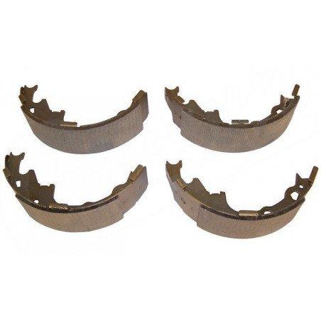 Kit Mâchoires (x4) freins arrière pour tambour 9 pouces / 230 mm / Jeep Wrangler YJ / TJ 90-00 / Cherokee XJ 90-00 // 4423606
