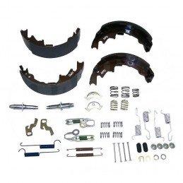 Kit de freins arrière tambour 9 pouces (230 mm) - Mâchoires + accessoires - Jeep Wrangler TJ 00-05 / Cherokee XJ 00-01