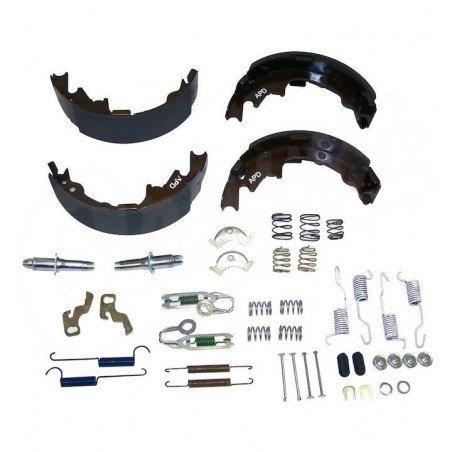 Kit de freins arrière tambour 9 pouces / 230 mm - Mâchoires + accessoires - Jeep Wrangler TJ 00-05 / Cherokee XJ 00-01