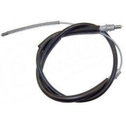 Câble de frein à main gauche ou droit pour freins arrière à tambour 9 pouces (230 mm) - Jeep Cherokee XJ 1990-1991 // 52004709