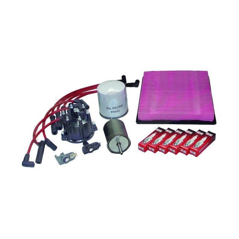 Kit entretien moteur Jeep Grand-cherokee ZJ 4.0L 93-96 - Allumage, tête, doigt, câbles, bougies, filtre air, huile, carburant