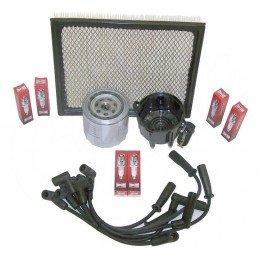 Kit entretien moteur Jeep Grand-Cherokee ZJ 4.0L 97-98 - Allumage, tête delco, câbles, bougie, filtre à air, filtre à huile