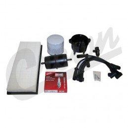 Kit entretien moteur Jeep Wrangler YJ 2.5L 95-96 -Allumage, tête doigt delco, cables, bougies, filtre air huile carburant// TK15