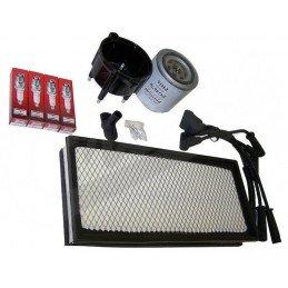 Kit entretien moteur Jeep Wrangler TJ 2.5L 97-98 - Allumage, tête delco, cables, bougie, filtre air, filtre huile // TK16