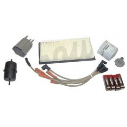 Kit entretien moteur Jeep Cherokee XJ  2.5L 87-90 - Allumage, tête doigt delco, câbles, bougies, filtre air huile carburant