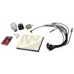 Kit entretien moteur Jeep Grand-cherokee ZJ V8 5.2L 93-96 - Allumage, tête, doigt, cables, bougies, filtre air, huile, carburant