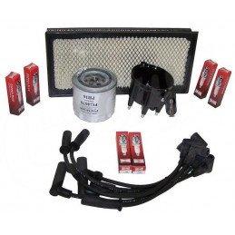 Kit entretien moteur Jeep Wrangler TJ 4.0L 99 - Allumage, tête, doigt, fils, bougies, filtre air, filtre huile // TK25