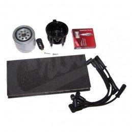 Kit entretien moteur Jeep Wrangler TJ 2.5L 99-00 - Allumage, tête, doigt, fils, bougies, filtre à air, filtre à huile // TK26